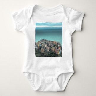 Corniglia on the cliffs, Cinque Terre Italy Tshirts