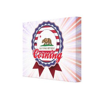 Corning, CA Impresión En Lona
