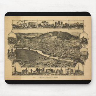 Corning New York (1882) Mouse Pad