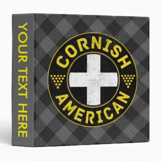 Cornish American Flag Binder