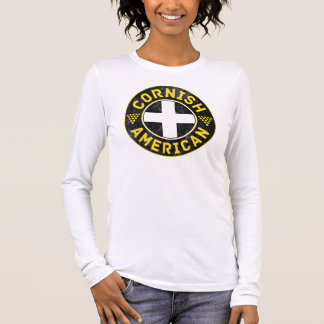 Cornish American Flag Long Sleeve T-Shirt