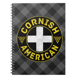 Cornish American Flag Notepad Notebook