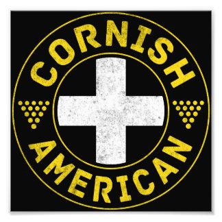 Cornish American Flag Photo Print