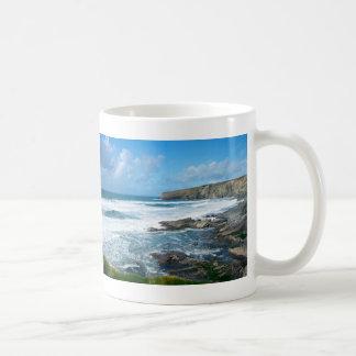 Cornish coast 2 coffee mug