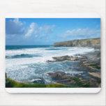 Cornish coast 2 mousepads