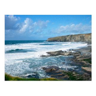 Cornish coast 2 post cards