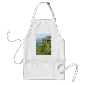 Cornish coast adult apron