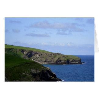 Cornish Coast Card