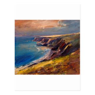 Cornish Coast near Newquay Postcard