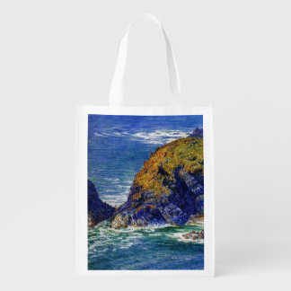 Cornish Coast Reusable Grocery Bag