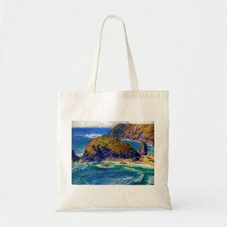 Cornish Coast Tote Bag