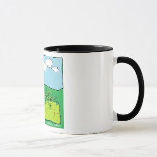 Cornish Daffodil, Primrose and Gorse Mug