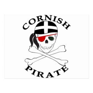 Cornish Pirate 1 Postcard