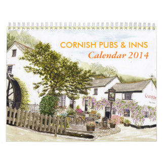 'Cornish Pubs & Inns' Calendar