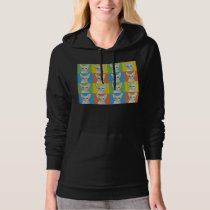 Cornish Rex Cat Cartoon Pop-Art Hoodie