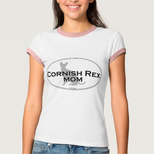 Cornish Rex Mom T Shirt