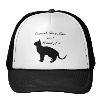 Cornish Rex Mom Trucker Hat