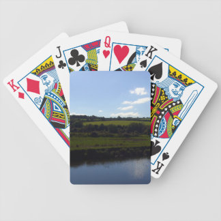 Cornish River and Countryside Bicycle Playing Cards