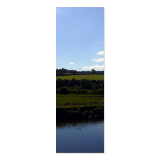 Cornish River and Countryside Double-Sided Mini Business Cards (Pack Of 20)