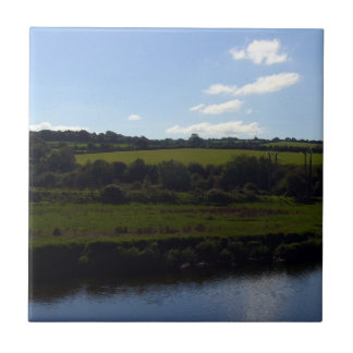 Cornish River and Countryside Ceramic Tile