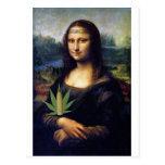 Cornnabis de Mona Lisa Postales