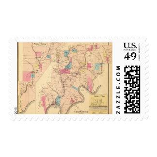 Cornplanter Township Postage Stamp