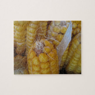 Cornstalk Autumn Harvest Puzzle