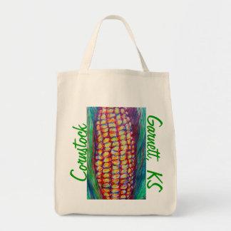 CornStock Garnett Kansas Art Bag