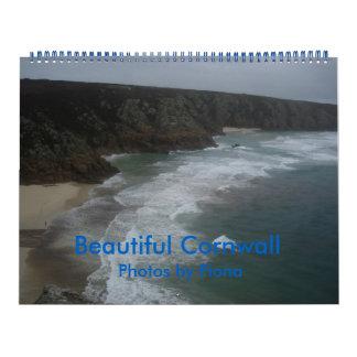Cornualles hermoso, calendario de pared
