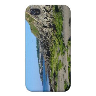 Cornualles, playa de Portscatho iPhone 4 Fundas