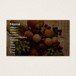 Cornucopia Business Card
