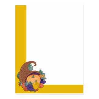 Cornucopia Corner Postcard