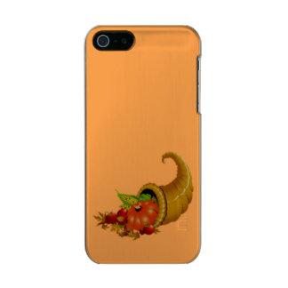 Cornucopia / Horn of Plenty Metallic iPhone SE/5/5s Case