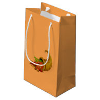 Cornucopia / Horn of Plenty Small Gift Bag
