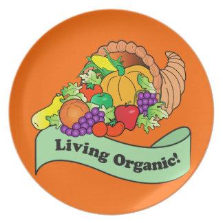 Cornucopia: Living Organic Dinner Plate