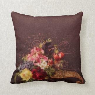 Cornucopia romántica almohada