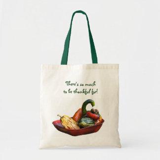 Cornucopia Thanksgiving Tote Canvas Bags