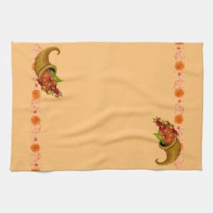 Cornucopia Thanksgiving Towels