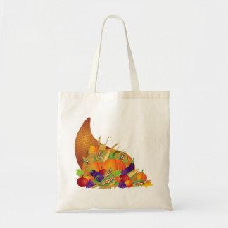 Cornucopia with Fall Harvest Bag