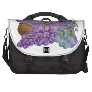 Cornucopia With Fruit And Flowers - Horn Of Plenty Laptop Computer Bag