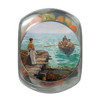 Cornwall 1895 glass jars