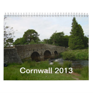 Cornwall 2013 Wall Calendar