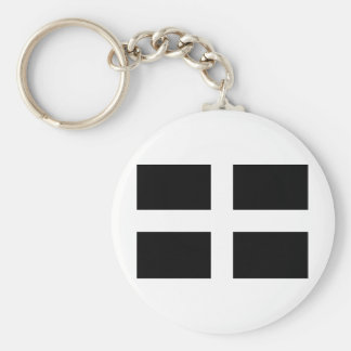 Cornwall, a Celtic Nation of Europe Keychain