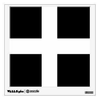 Cornwall - Cornish Flag St. Piran's Wall Skin