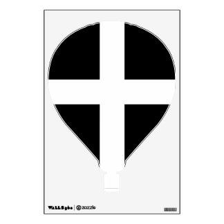Cornwall - Cornish Flag St. Piran's Wall Sticker
