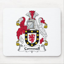 Cornwall Family Crest Mousepad