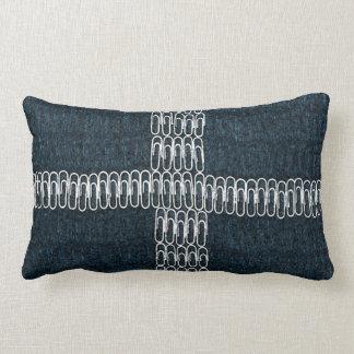 Cornwall Flag of Paperclips Lumbar Pillow