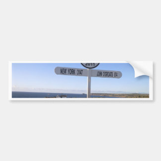 Cornwall Lands End Bumper Sticker