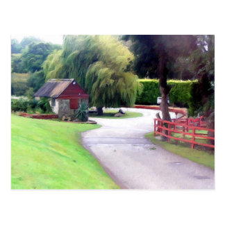 Cornwall landscape, England Postcard