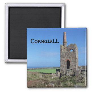 Cornwall Mine Engine House Magnet